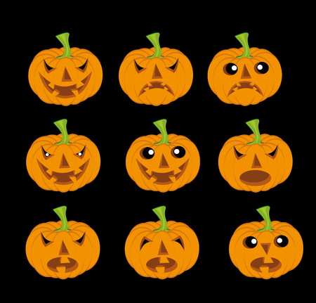 Haloween pumpkin Vector
