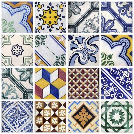 porto: Traditional tiles from Porto, Portugal Stock Photo