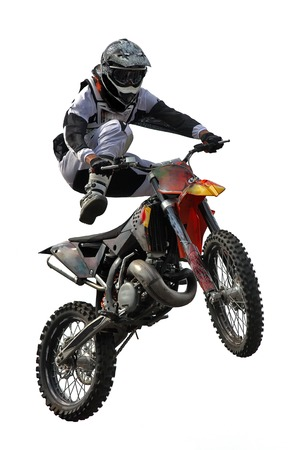 Belgrade, Serbia - May 31, 2009  Unidentified motocross rider on Red Bull X Fighters Exhibition Tour in Belgrade, Serbia
