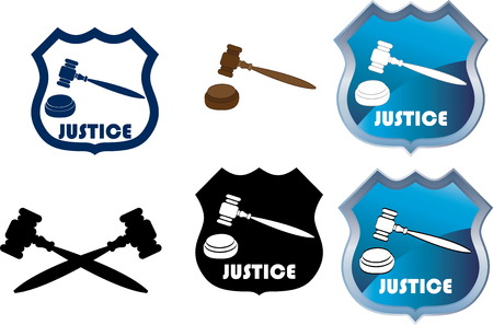 Justice Stock Vector - 23122585