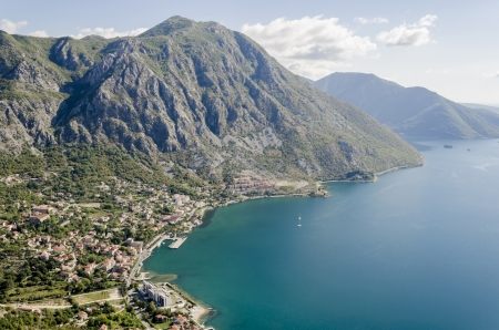 Bay of Kotor, Montenegro photo
