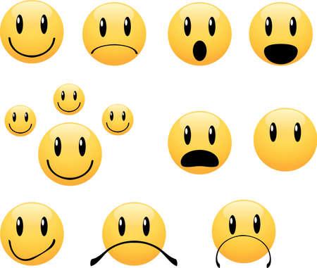 grimace: Smiley face