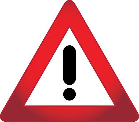 advisory: Warning sign