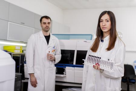 Medical laboratory photo