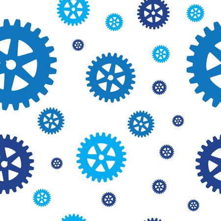 Gears pattern Vector