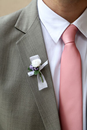 Groom suit photo