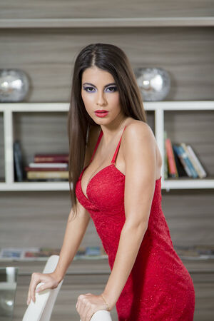 Pretty young woman photo