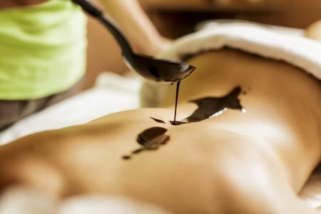 Hot chocolate massage photo