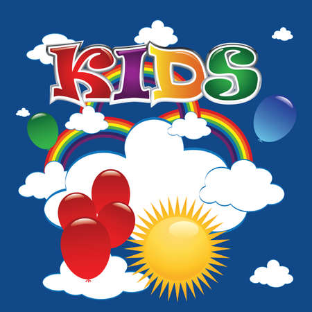 Kids icon Vector