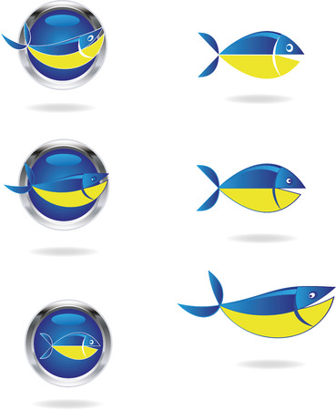 The fish Vector