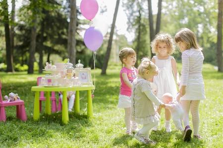Verjaardagsfeestje Stockfoto