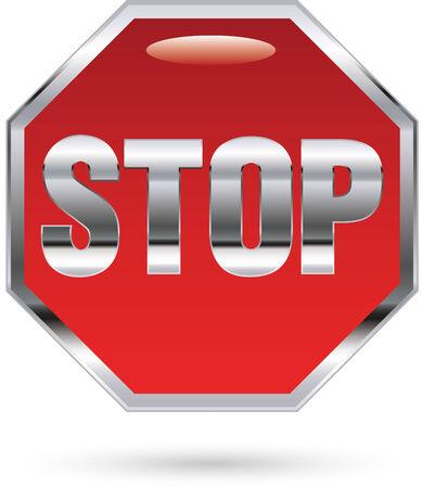 Stop sign Ilustracja