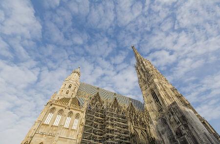 Stephansdom in Vienna photo
