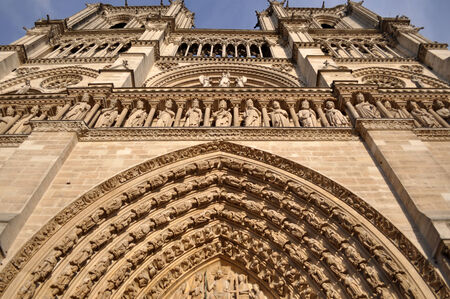 notre dame: Notre Dame in Paris
