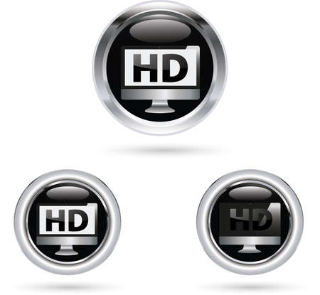 HD icon Vector
