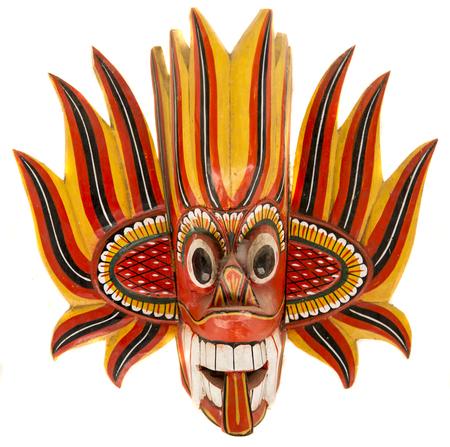 Fire devil mask photo