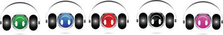 earphones: Earphones icons