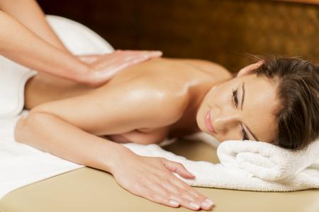 Massaggio Archivio Fotografico