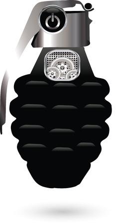 Hand grenade Stock Vector - 28681690