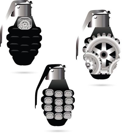 Hand grenade Stock Vector - 28883429