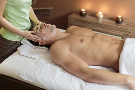 Facial massage photo