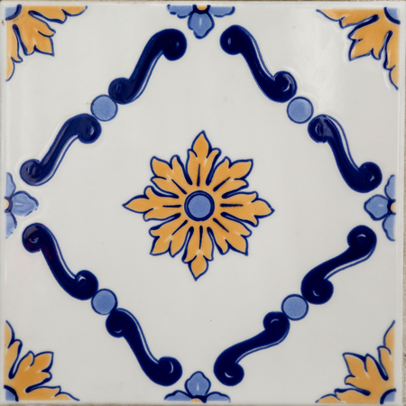 Traditional tiles from Porto photo
