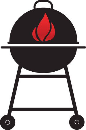 Grill sign Vector
