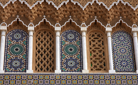 fez: Royal palace in Fez, Morocco