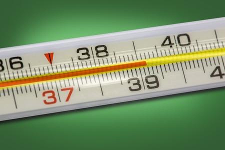 body temperature: High body temperature