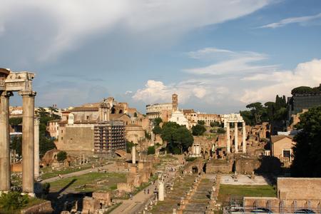 Roman forum, Rome photo