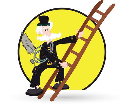 Chimney sweeper Vector