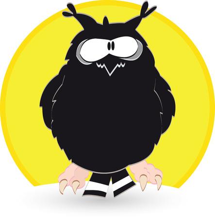 The owl Vector