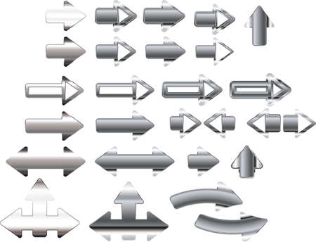 illustration of the Arrow icons Vector
