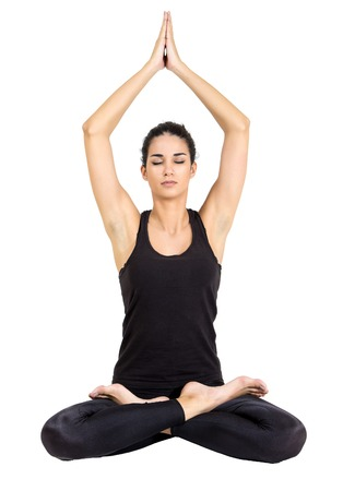 Yoga woman photo