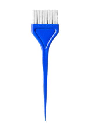 tinte de cabello: Tinte de pelo de cepillo Foto de archivo