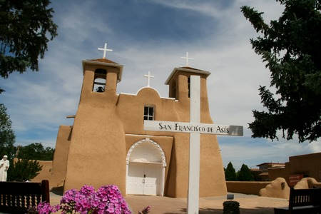 San Francisco de Asis Mission Church in New Mexico photo
