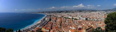 Panoramic view at Nice, France photo
