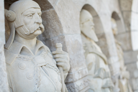 schulek: Fishermans Bastion in Budapest. It was built between 1890-1905  by Frigyes Schulek, and is named after Guild of Fishermen who defended this section of the wall during Middle Ages