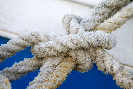 Boat rope photo
