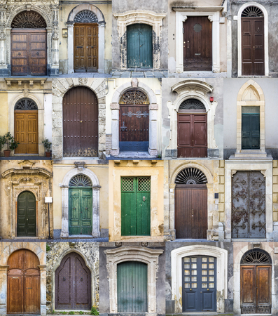 Doors from Sicily photo