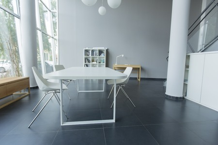 open spaces: Modern office interior
