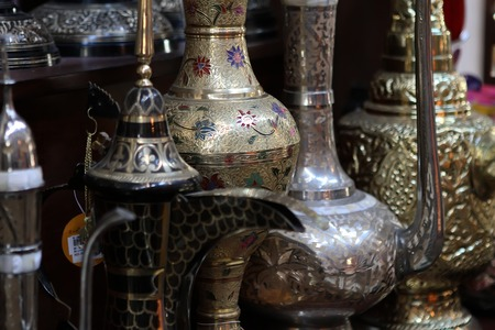 stand teapot: Traditional arabic market