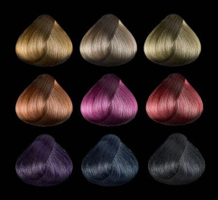 Hair color set photo