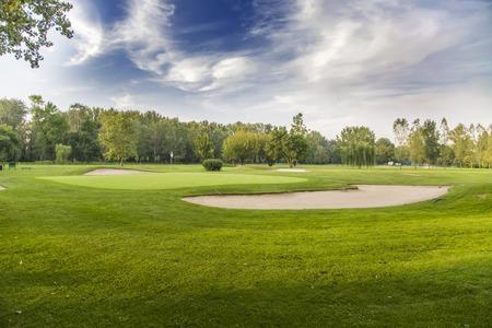 play golf: Golf course