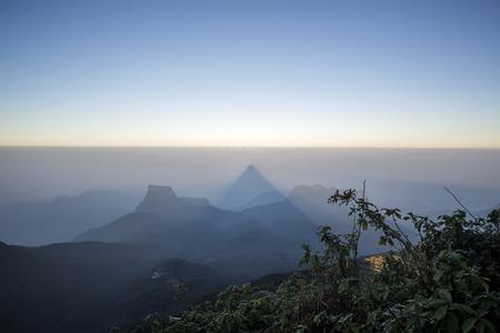 Adams Peak at Sri Lanka photo