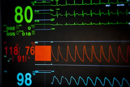 Vital signs unit Stock Photo