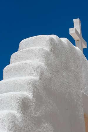 pueblo: San Geronimo Chapel in Taos Pueblo, USA