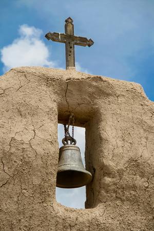 San Lorenzo de Picuris church in New Mexico photo