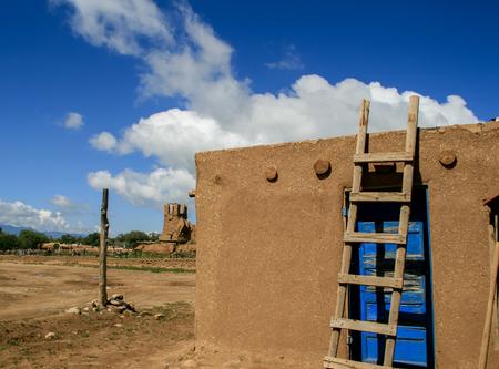 Taos Pueblo in New Mexico, USA photo