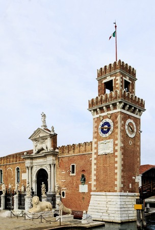 Arsenale in Castello in Venice photo